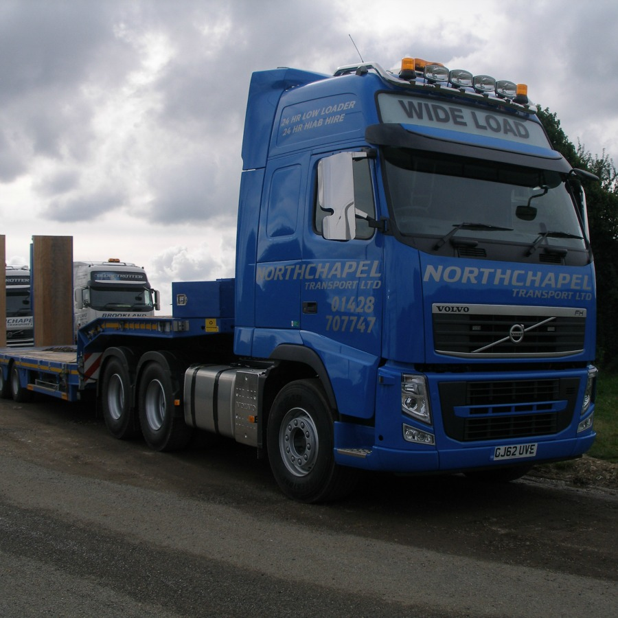 Fleet Volvo Fh Trailers Hiab Support